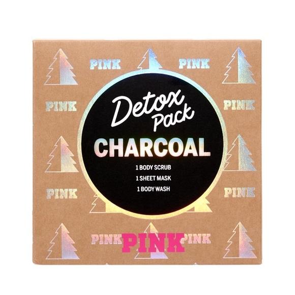 Pink Victorias Secret Accessories Vs Pink Detox Pack Charcoal